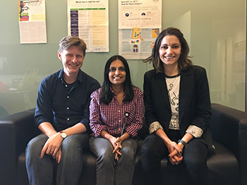 American Museum of Natural History's ROP Leaders: Danny, Preeti, and Kate