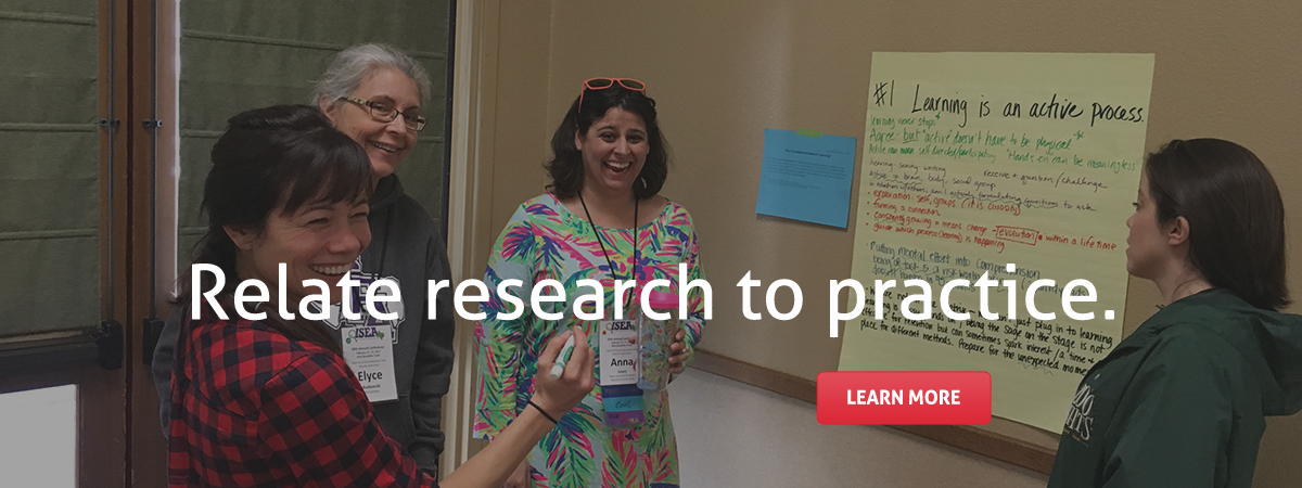 Relate research to practice. Learn more.
