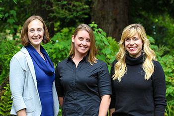 California Academy of Sciences' ROP Leaders: Lindzy, Elizabeth, and Kathryn